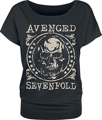 Avenged Sevenfold Emblem Maglia donna nero S