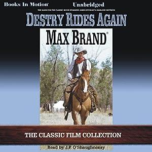 Destry Rides Again Audiobook