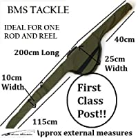 Bms Tackle Carp Fishing Padded Rod Bag Sleeve For Made Up Rods by NGT