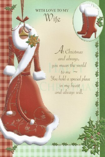 Popular christmas greetings cards for wife christmas with love to christmas with love to my wife m4hsunfo