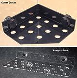 "Eshopps Coral Magnetic Frag Rack - Clear Straight - 23 plug 12x4"""