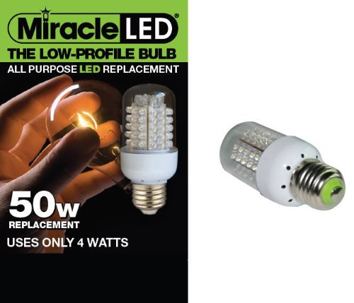 Miracle LED 605006 General Purpose Bulb, White