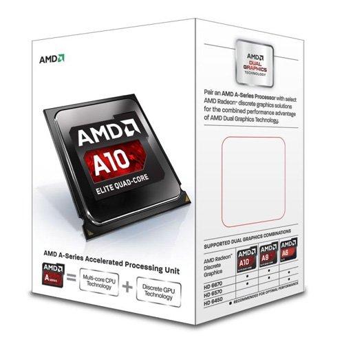 AMD A10-6700 Richland 4.2GHz Socket FM2 65W Quad-Core Desktop Processor AMD Radeon HD AD6700OKHLBOX (Amd Quad Core Fm2+ compare prices)