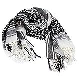 Tenflyer Arab Hood White Authentic Arab Unisex Shemagh Fashion Head Scarves Hair Hood