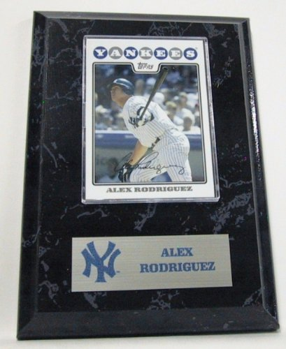 New York Yankees Alex Rodriguez MLB Card Plaques at Amazon.com