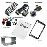 2DIN-Autoradio-CREATONE-CR-3012-fr-VW-Passat-3C-2005-2014-mit-GPS-Navigation-mit-Radarmeldung-Bluetooth-Touchscreen-DVD-Player-und-USBSD-Funktion