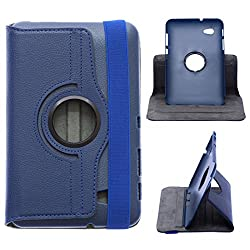 DMG Premium 360 Degrees Rotating Smart Cover Stand Case for Samsung Galaxy Tab 2 P3100 (Pebble Blue)