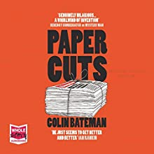Papercuts Audiobook by Colin Bateman Narrated by Stephen Armstrong