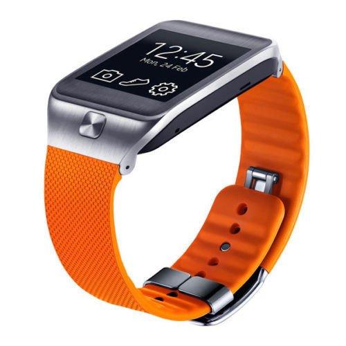 Samsung Gear 2 & Neo Smartwatch Replacement STRAP-BAND - Orange - OEM