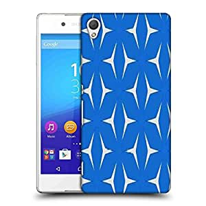 Snoogg Blue Pattern Designer Protective Phone Back Case Cover For Asus Zenfone 6