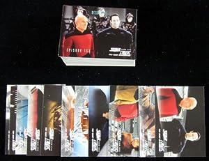 1999 Skybox Star Trek The Next Generation Season Seven Set (637-739) NM/MT
