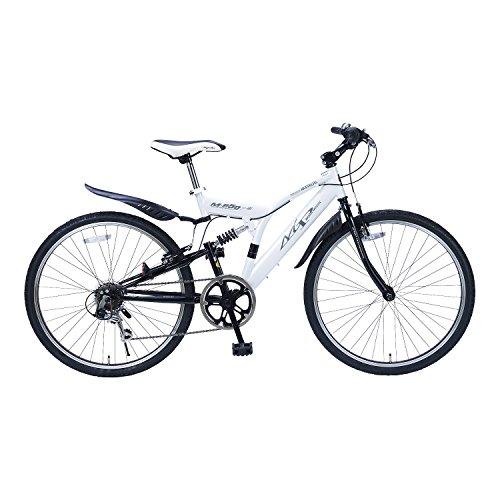 My Pallas(マイパラス) 自転車 クロスバイク 26インチ 6段変速 リアサス M-650 type3 ホワイト