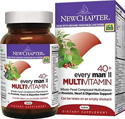 New Chapter Every Man II Multivitamin, 288 Tablets