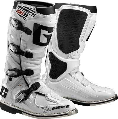 Gaerne SG-11 Boots, Distinct Name: White, Gender: Mens/Unisex, Size: 6, Primary Color: White 2159-004-006
