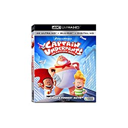 Captain Underpants: First Epic [4K Ultra HD + Blu-ray]