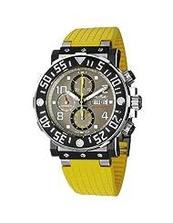 Paul Picot C-Type Plongeur Helium Valve Men's Titanium Automatic Chronograph Watch P4030.H.TNG.5010.3301