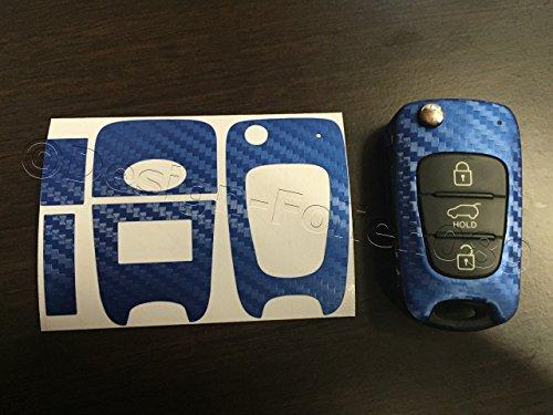 pantalla-de-carbono-decoracion-azul-llave-dekor-carbon-optik-kia-sportage-sorento-picanto-sw-venga-s