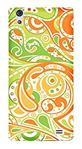 WOW Printed Designer Mobile Case Back Cover For LYF Water 6