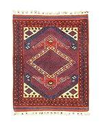 L'Eden del Tappeto Alfombra Antik Rojo 103 x 115 cm