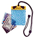 "DRY PAK DP-44 Yellow/Blue 4"" x 4"" Alligator Waterproof Wallet"