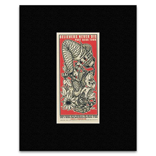 FALL OUT BOY - Believers Never Die Matted Mini Poster - 19.8x9.5cm Stick It On Your Wall