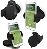 FoneM8 - Samsung Galaxy S4 Windscreen Or Dashmount Mobile Phone Holder, Works In Portrait Or Landscape - Also Works With The Phone In Its Case