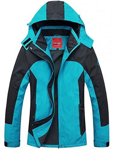 Cloudy Women's Waterproof Mountain Jacket Fleece Windproof Ski Jacket