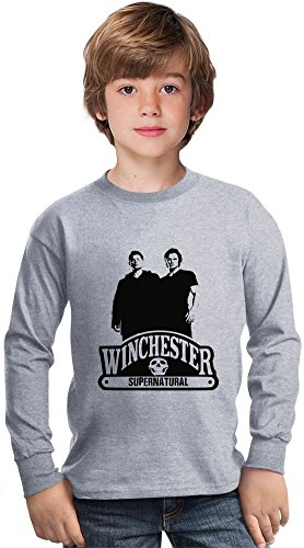 winchester-supernatural-amazing-kids-long-sleeved-shirt-by-true-fans-apparel-100-cotton-ideal-for-ac