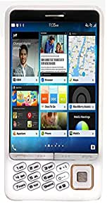 Sicho Q100 Touch and Keyboad Mobile phone in White Colour