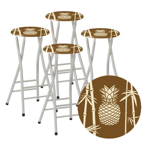 Best Of Times Bar Stools Tiki Set Of 4 Furniture Chairs