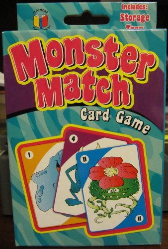 Monster Match Card Game by Toysmith - 1