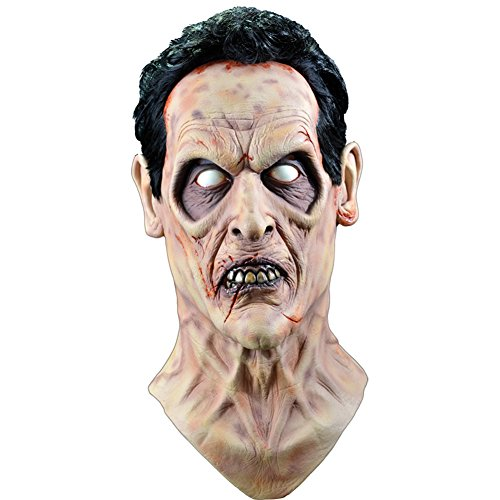 Trick or Treat Studios Men's Evil Dead 2-Evil Ash Mask