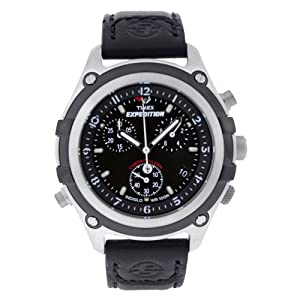 Amazon.com: Timex Men's T49745 Expedition Stainless Steel Chronograph
