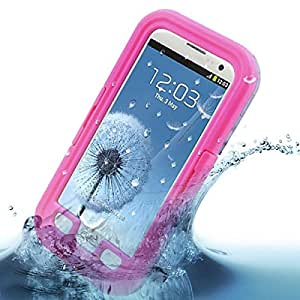 Pink Waterproof Shock Snow Protector Case Cover for Samsung Galaxy S3 III i9300
