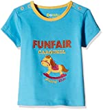 #2: Donuts Baby Girls T-Shirt (267622669_Aqua_03M)