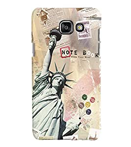 GADGET LOOKS PRINTED BACK COVER FOR Samsung Galaxy A7 (2016) MULTICOLOR