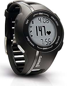 Garmin Forerunner 210 avec cardio-fréquencemètre - Montre de running avec GPS intégré - Noir