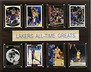 NBA Los Angeles Lakers All-Time Greats Plaque by C&I Collectables