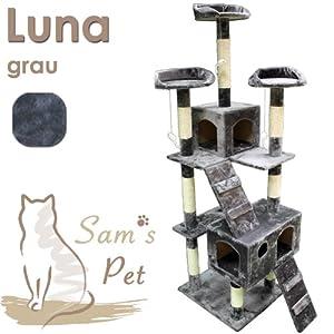 Sam´s Pet Kratzbaum Luna - Höhe: 182 cm - grau