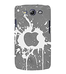 printtech Apple Back Case Cover for Samsung Galaxy S3 / Samsung Galaxy S3 i9300