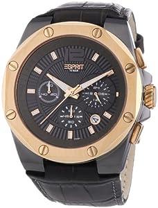 Esprit - ES102881008 - Montre Homme - Quartz Chronographe - Chronomètre/Aiguilles/Luminescent - Bracelet Cuir Gris