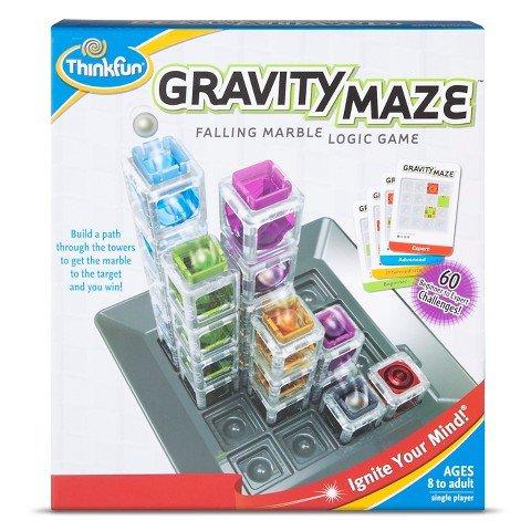 ThinkFun Gravity Maze Falling Marble Logic Game