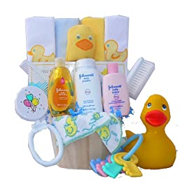 Baby's Store | Rub A Dub Dub… It's Time For A Tub! Baby Gift Basket