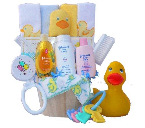 Rub A Dub Dub... It's Time For A Tub! Baby Gift Basket