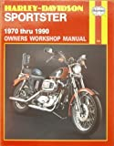 img - for Harley-Davidson Sportster Owners Workshop Manual (Haynes motorcycle repair manual series) by J. H. Haynes (1990-05-03) book / textbook / text book