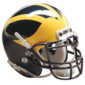 Schutt Sports Michigan Wolverines NCAA Authentic Full Size Helmet by JR Sports