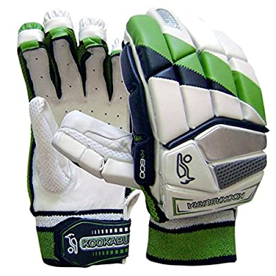 Kookaburra Kahuna 600 Batting Gloves, Men's (Green/Black)