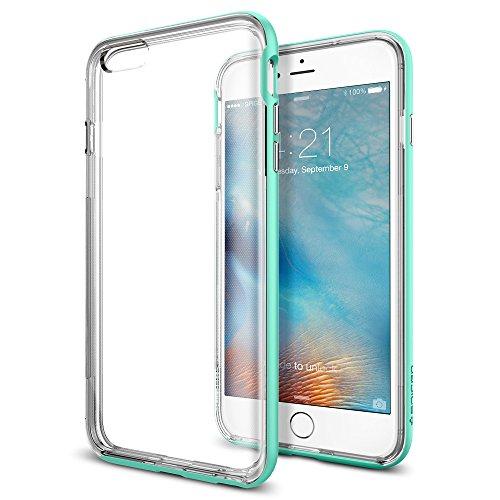 Spigen iPhone6s Plus ケース / iPhone6 Plus ケース, ネオ・ハイブリッド EX [ 二重構造 スリム フィット ] アイフォン6s プラス /  6 プラス 用 (ミント SGP11672)