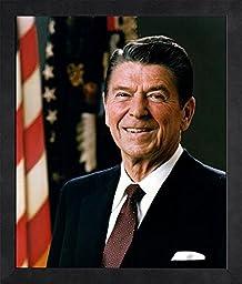 President Ronald Reagan - Official Portrait - Framed 8x10 Photo