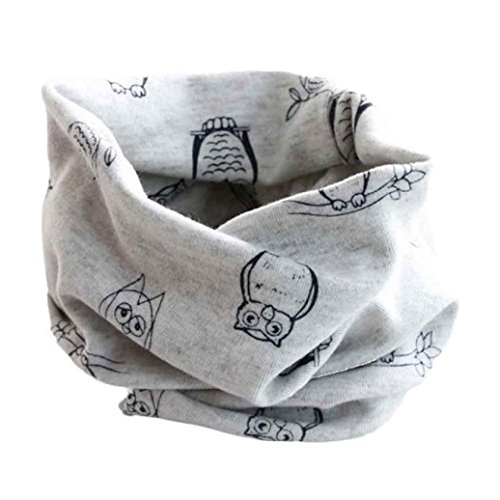 Elevin(TM)New Baby Boys Girls Autumn Winter Collar Scarf Cotton O Ring Neck Scarves (I)